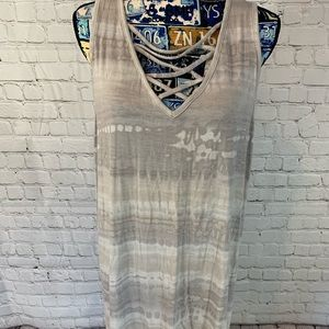 Maurices tunic style tank top plus 1